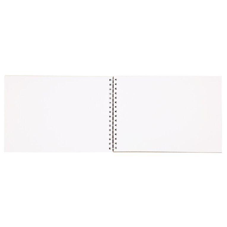 Kookie Space Sketchpad Astronauts & Rockets Purple A4, , hi-res