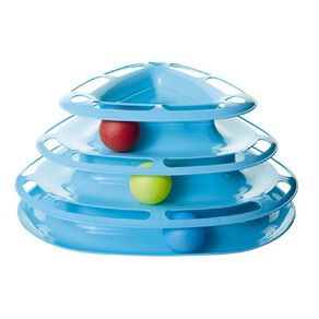 Petzone Cat Toy Tiered with Balls