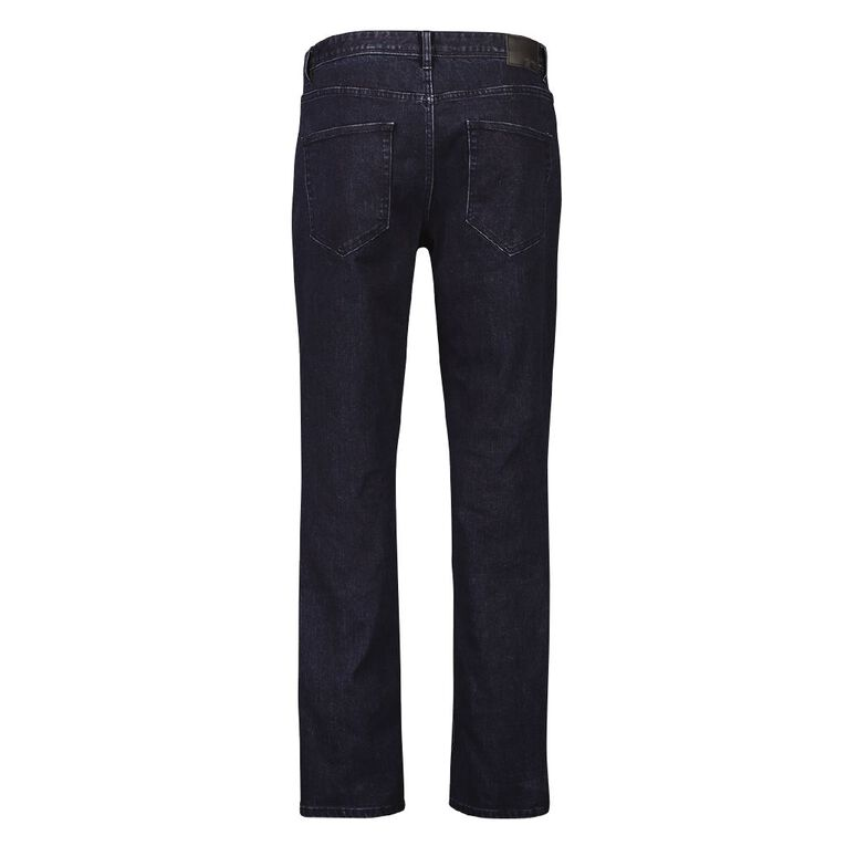 H&H Men's Straight Jeans, Denim Dark, hi-res
