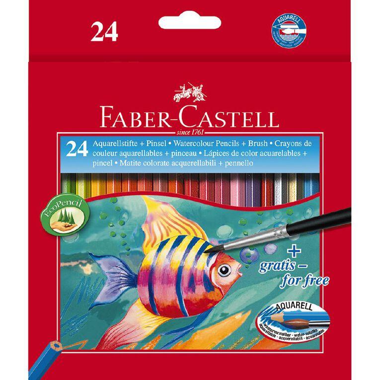 Faber-Castell Watercolour Pencils 24 Pack, , hi-res
