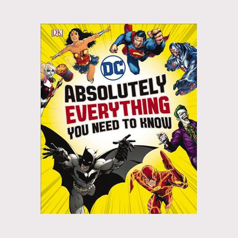 DC Comics Absolutely Everything You Need To Know, , hi-res