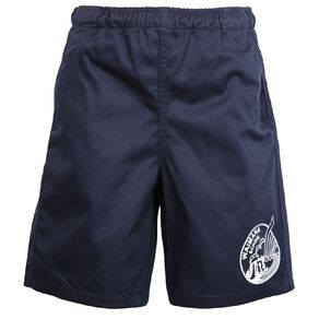 Schooltex Waimana School Drill Rugby Shorts with Transfer