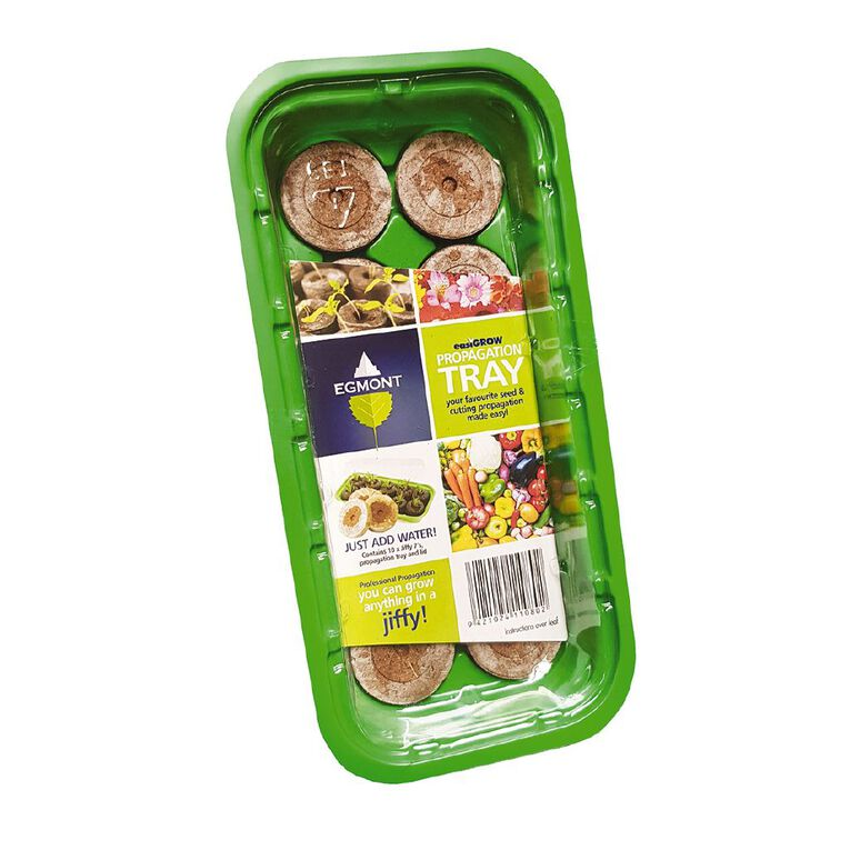 Jiffy Propagation Tray with 10 Pellets, , hi-res