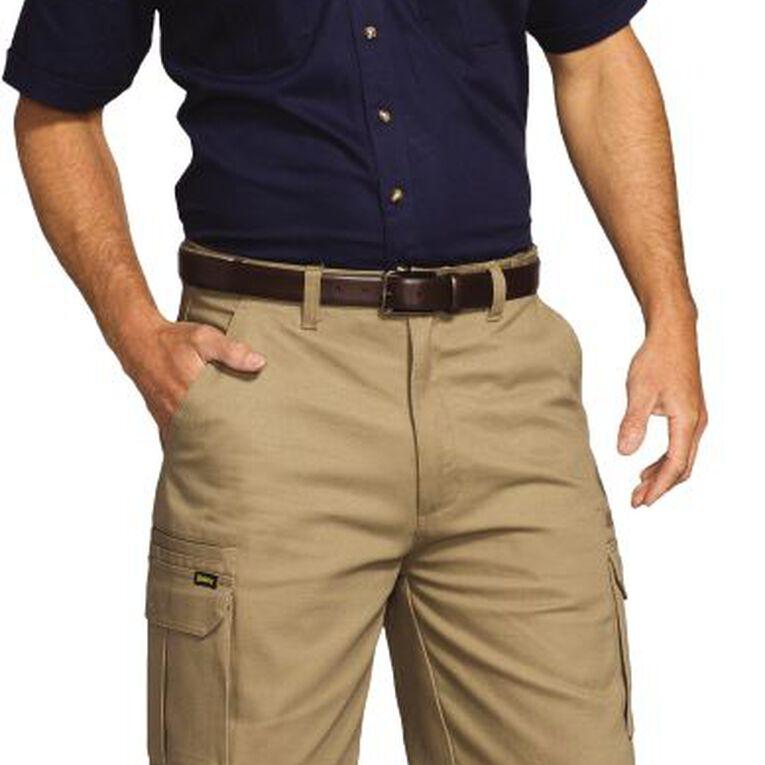 Bisley Workwear Short Sleeve Shirt, Navy, hi-res image number null