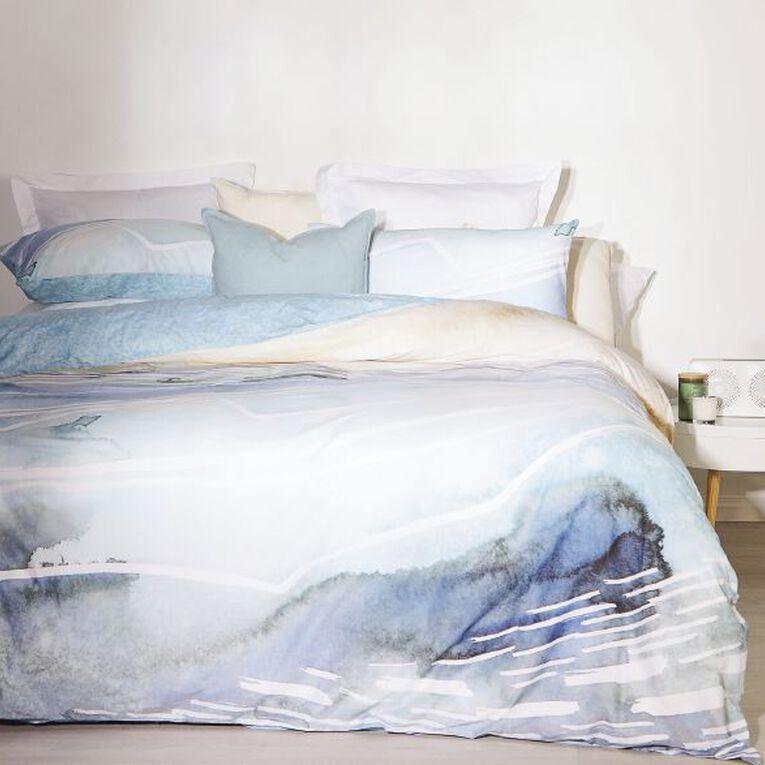 Living & Co Duvet Cover Set Cotton Laguna Queen, , hi-res image number null