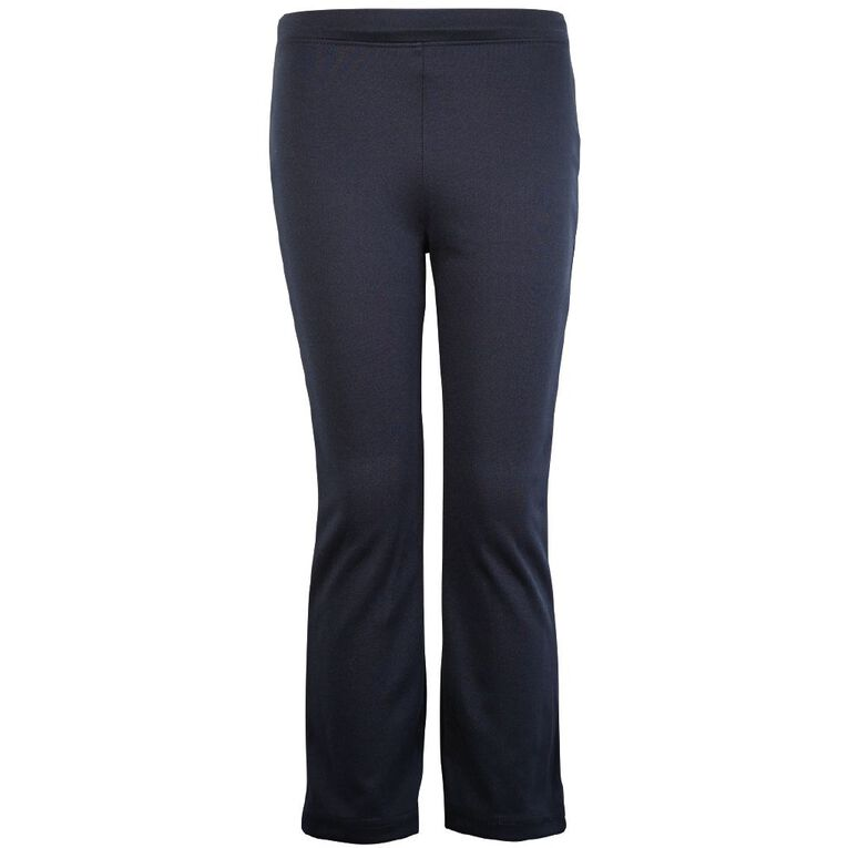 Schooltex Casual Bootleg Pants, Navy, hi-res