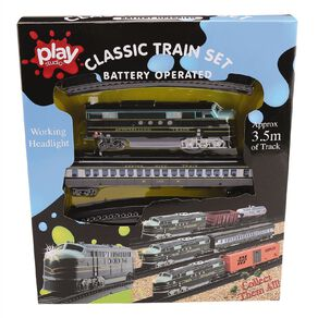 Play Studio Train Set with Head Light Assorted