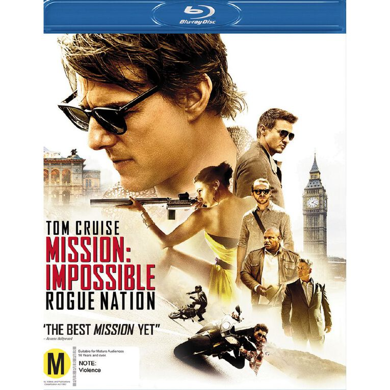Mission Impossible Rogue Nation Blu-ray 1Disc, , hi-res