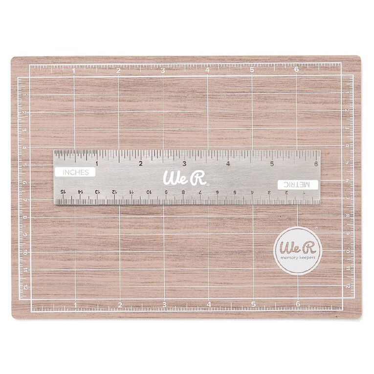 We R Memory Keepers Basic Hand Tools Mini Magnetic Mat 7in x 5in, , hi-res