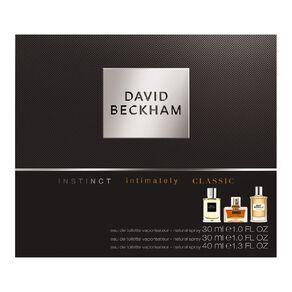 Beckham Signature Instinct Intimately Classic Set