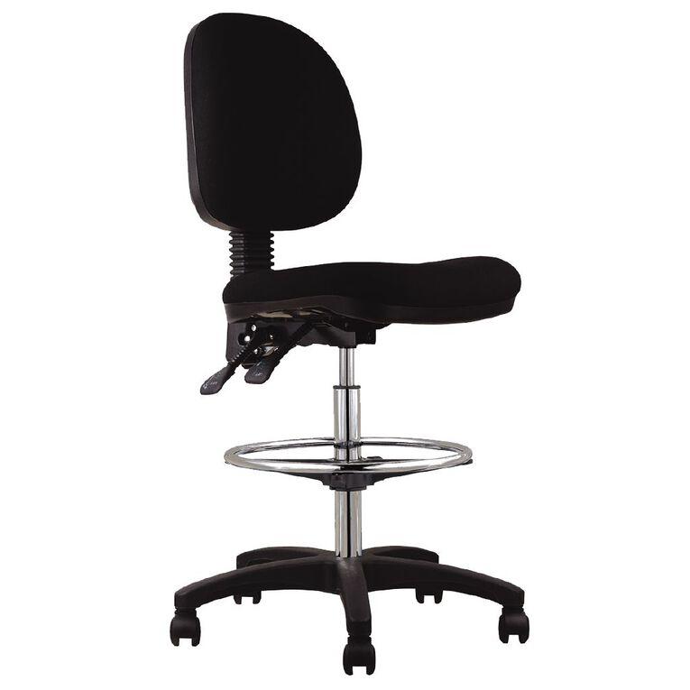 Workspace Ergo Tech Chair Black, , hi-res