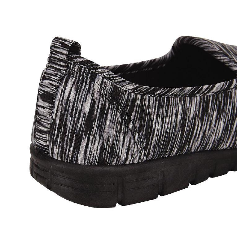 H&H Journey Shoes, Black MARL, hi-res