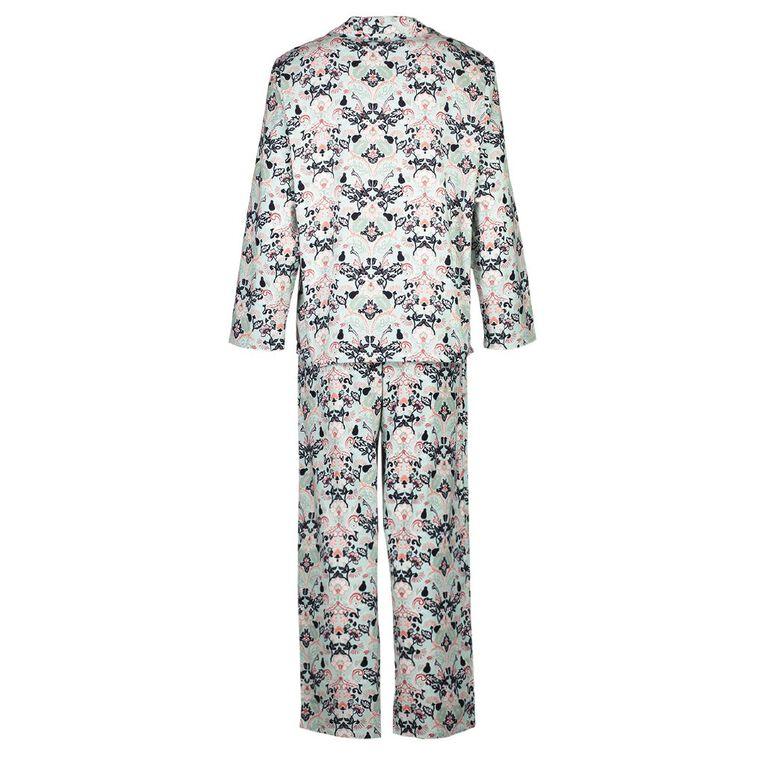 H&H Women's Flannelette Pyjamas Set, Mint, hi-res