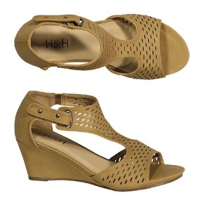 H&H Women's Hazel Wedge Sandals