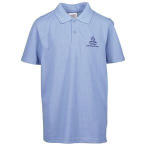 Schooltex Tauranga Adventist Short Sleeve Polo with Embroidery