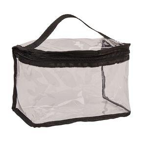 Necessities Brand Toiletry Bag Train Case Clear Medium