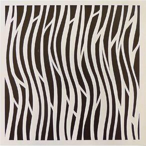Fivestar Stencil Waves 15cm x 15cm