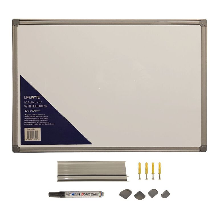 Litewyte Whiteboard 420mm x 600mm A2, , hi-res