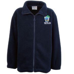 Schooltex Mercury Bay Area School Polar Fleece Jacket with Embroidery