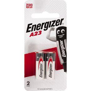 Energizer Alkaline Specialty Battery A23 12 Volt 2 Pack