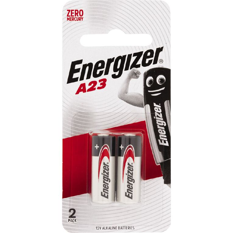 Energizer Specialty Battery A23 12Volt 2 Pack, , hi-res