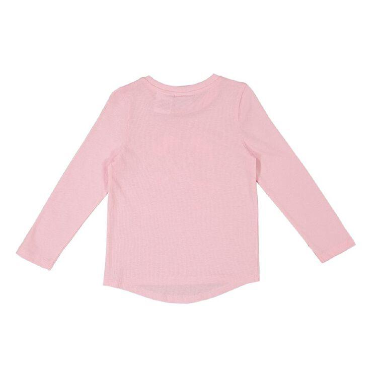 Paw Patrol Long Sleeve Print Tee, Pink Light, hi-res