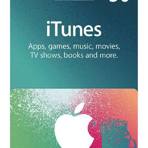 Apple iTunes Splash $50