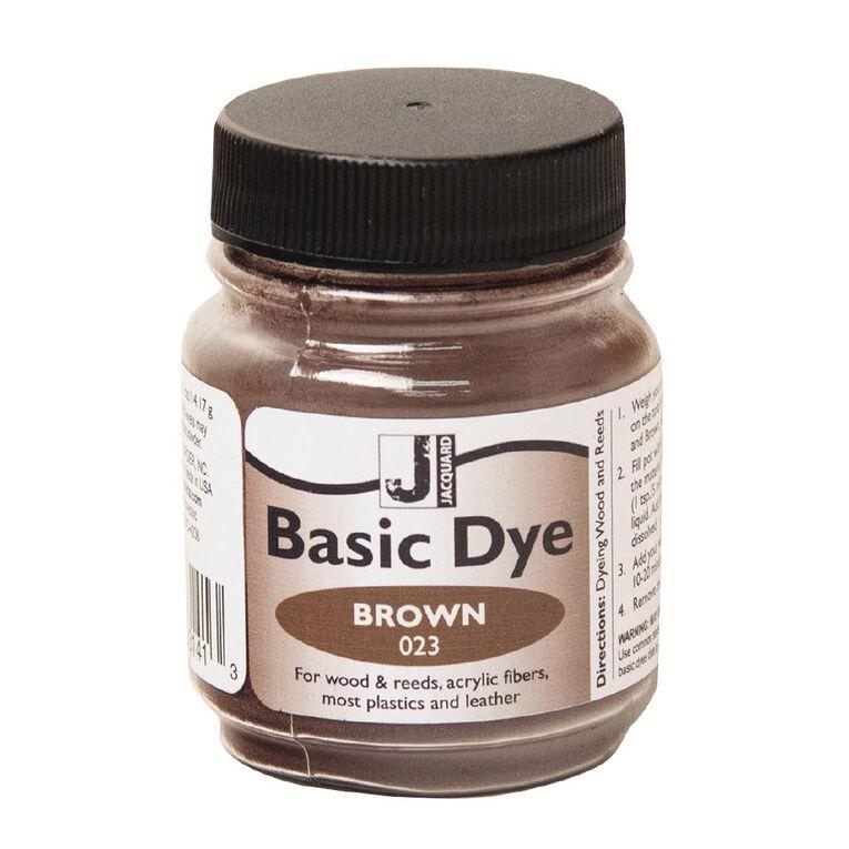 Jacquard Basic Dye 14.17g Brown, , hi-res