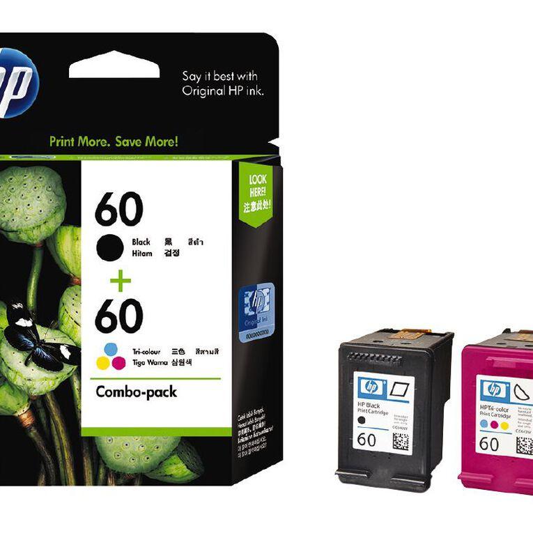 HP Ink 60/60 Combo Pack, , hi-res