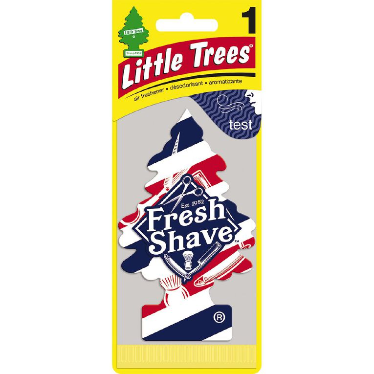 Little Trees Hanging Car Air Freshener Fresh Shave Scent, , hi-res