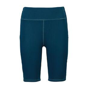 Active Intent Women's Long Length Pocket Bike Shorts