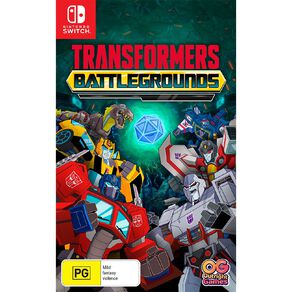 Nintendo Switch Transformers: Battle Grounds