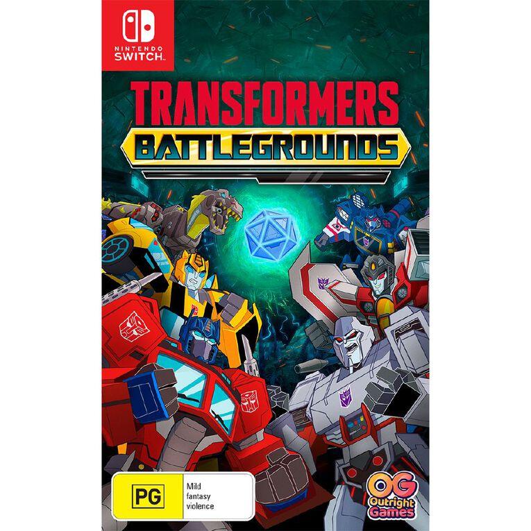 Nintendo Switch Transformers: Battle Grounds, , hi-res