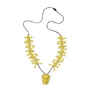 Scarehouse Skull & Bone Necklace