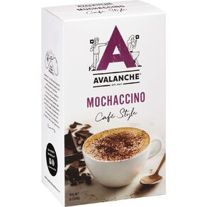 Avalanche Cafe Style Mochaccino 10 Pack