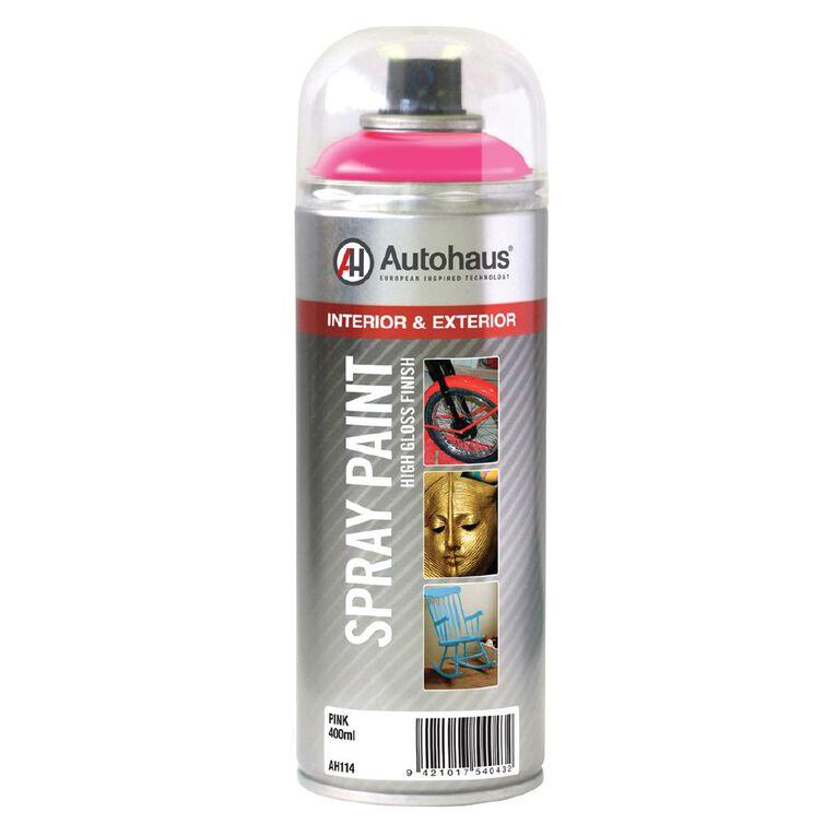 Autohaus Spray Paint Pink 400ml, , hi-res