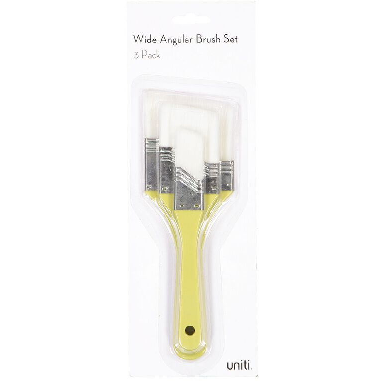 Uniti Brush Set Wide Angular 3 Piece, , hi-res