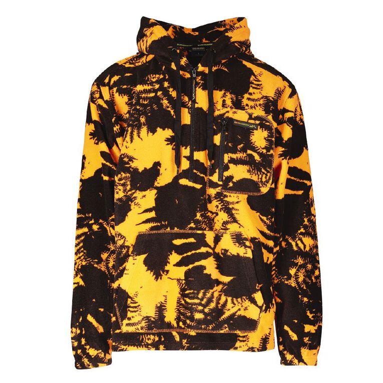 Back Country Camo Fleece Hooded Sweatshirt, Orange/Fluro, hi-res