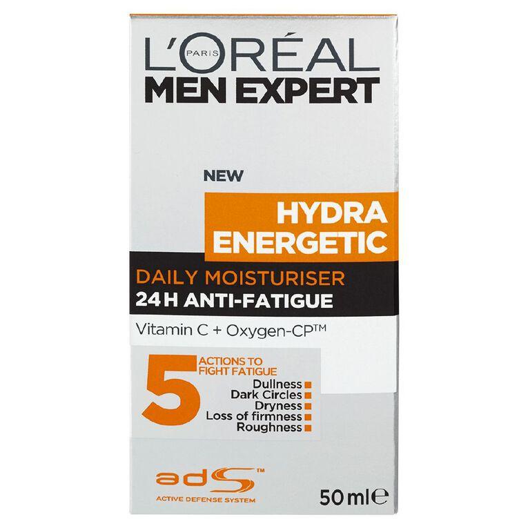 L'Oreal Paris Men Expert Hydra Energetic Moisturiser 50ml, , hi-res