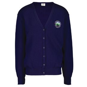 Schooltex Westland High Cardigan with Embroidery