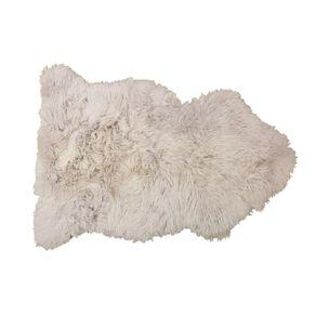 Living & Co Genuine Sheep Skin Rug Grey 60cm x 90cm