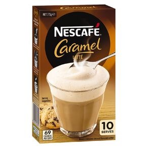 Nescafe Cafe Caramel 10 Pack