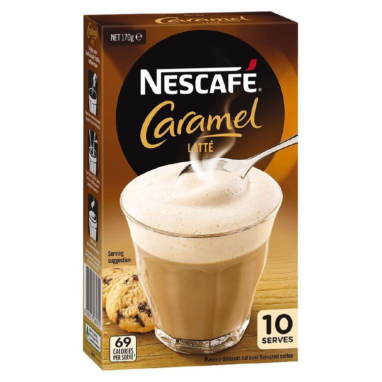 Nescafe Cafe Caramel 10 Pack, , hi-res