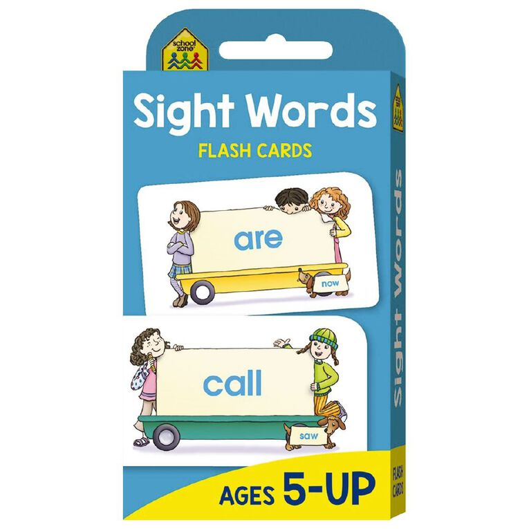 Hinkler School Zone Beginning Sight Words Flash Cards, , hi-res