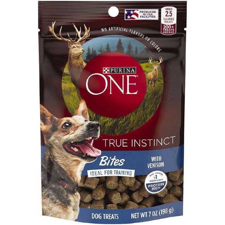 Purina ONE Dog True Instinct Bites Venison 198g, , hi-res