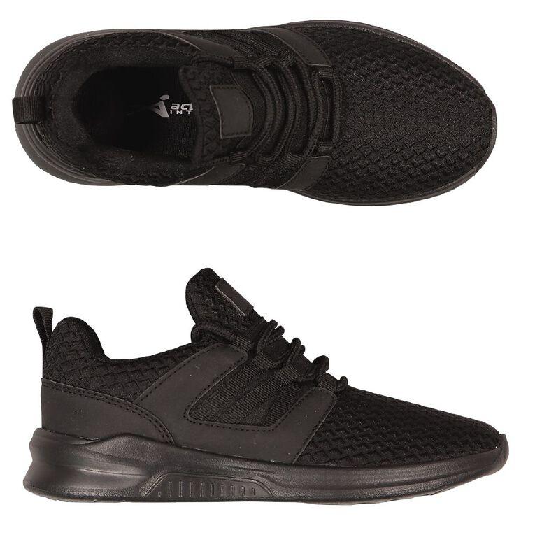 Active Intent Kids' Talles Shoes, Black, hi-res