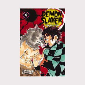 Demon Slayer: Kimetsu No Yaiba Vol #4 by Koyoharu Gotouge