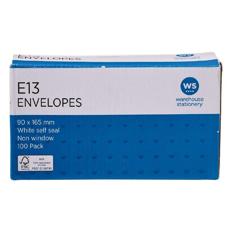 WS Envelope E13 Seal 100 Pack, , hi-res