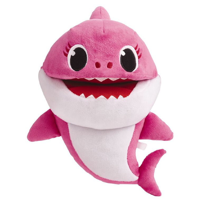 Baby Shark Family Singing Puppet With Tempo Control Assorted, , hi-res