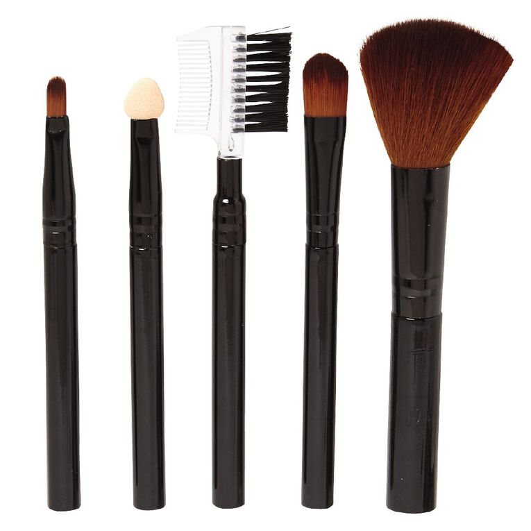 Colour Co. Cosmetic Brush Set 5 Piece, , hi-res